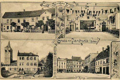"""Gasthof """"Zum Kronprinzen"""" in Parchwitz"""
