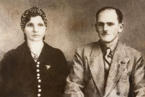 Meta und Julius Heilig, die Eltern von Adolf Heilig