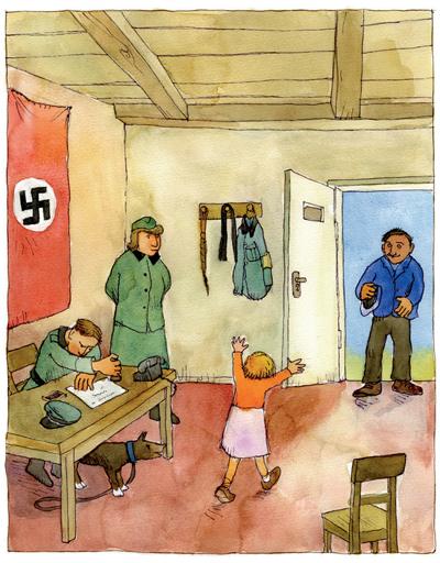 Zeichnung von Lukas Ruegenberg (Foto: Lukas Ruegenberg, Archiv DokuZ)